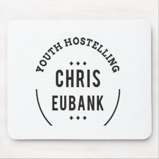 YOUTH HOSTELLING CHRIS EUBANK alan partridge Mouse Pad