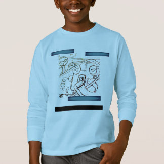 youth long sleeve tee by DAL