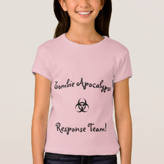 Youth shirt- zombie apocalypse response team T-Shirt
