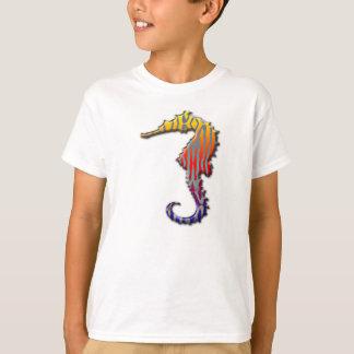 Youth strange seahorse shirt