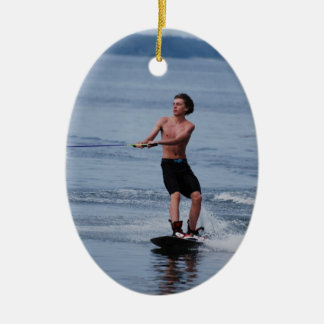 Youth Wakeboarding  Ornament