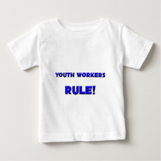 Youth Workers Rule! Baby T-Shirt