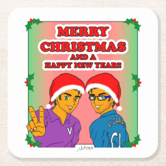 Youthful Conquerors Christmas Coaster