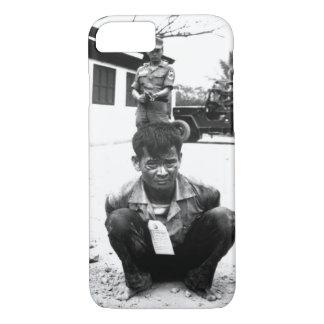Youthful hard-core Viet Cong, heavily guarded, awa iPhone 7 Case