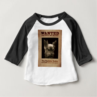 Youthful Yorkie_ Baby T-Shirt
