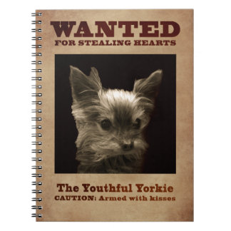 Youthful Yorkie_ Notebook