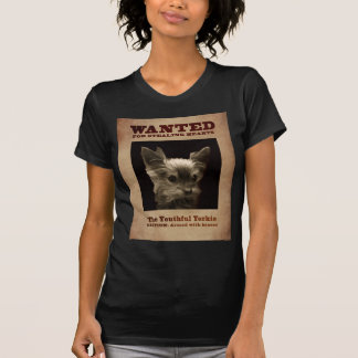 Youthful Yorkie_ T-Shirt