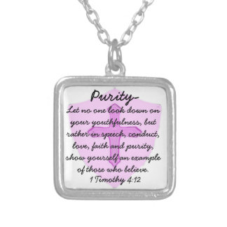 Youthfulness Purity Christian Necklace