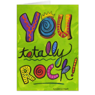 YouTotally Rock Card