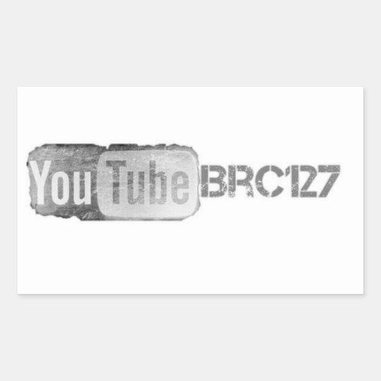 Youtube Channel brc127 Sticker
