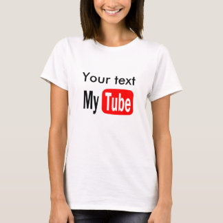 YouTube Funny Template, Do it yourself, popular T-Shirt