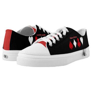 YouTube logo shoes