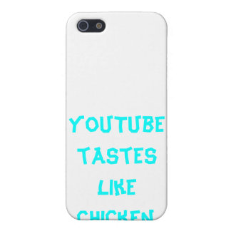 YouTube Tastes Like Chicken iPhone 4 case! iPhone 5 Cover