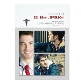 You've been framed Caduceus Medical Graduation Card