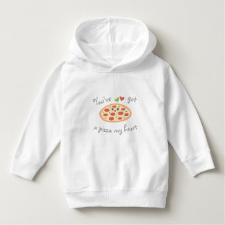 You've Got a Pizza My Heart Cute Funny Love Pun Hoodie