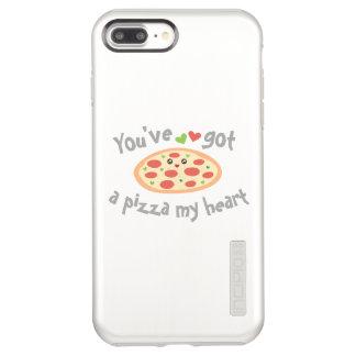 You've Got a Pizza My Heart Cute Funny Love Pun Incipio DualPro Shine iPhone 8 Plus/7 Plus Case