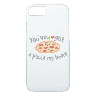 You've Got a Pizza My Heart Funny Punny Food Humor iPhone 8/7 Case