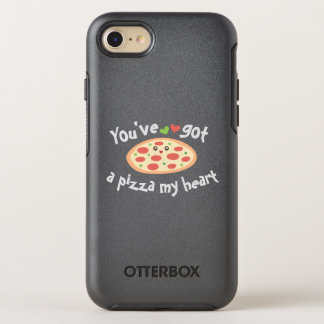 You've Got a Pizza My Heart Funny Punny Food Humor OtterBox Symmetry iPhone 8/7 Case