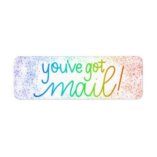 You've Got Mail! Envelope Sealing Stickers