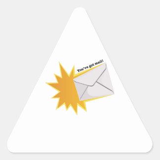 You've Got Mail! Triangle Sticker