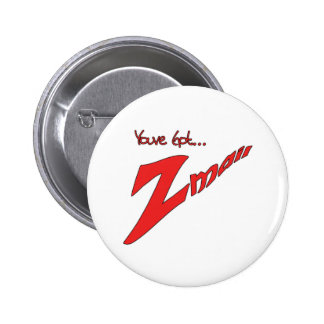 Youve Got Zmail Pinback Buttons