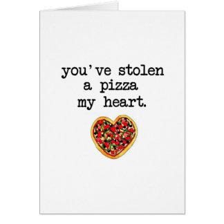 You've Stolen My Heart Card