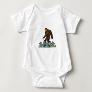 Yowie at Large Baby Bodysuit
