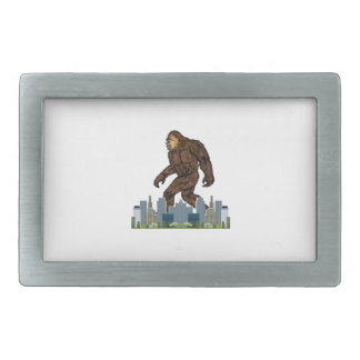 Yowie at Large Belt Buckles