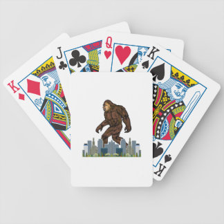 Yowie at Large Bicycle Playing Cards