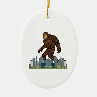 Yowie at Large Ceramic Ornament