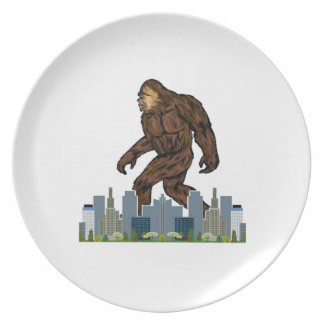 Yowie at Large Party Plates