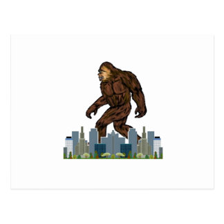 Yowie at Large Postcard