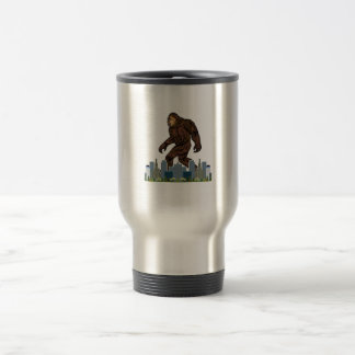 Yowie at Large Travel Mug