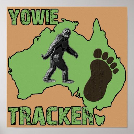 Yowie Tracker Poster