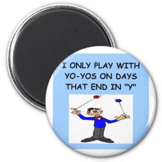 YOYO player 2 Inch Round Magnet