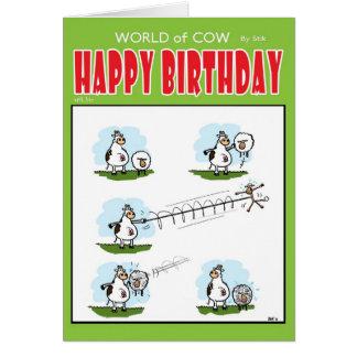 Yoyo Sheep Card