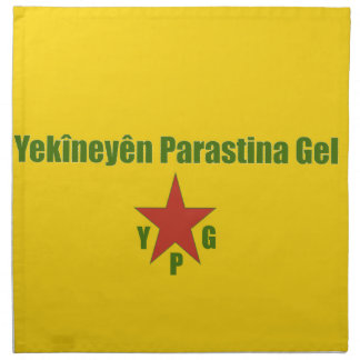 YPG Flag Napkin