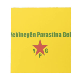 YPG Flag Notepad