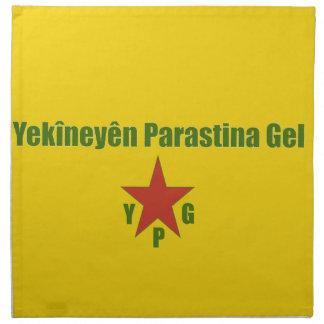 YPG Flag v2 Napkin