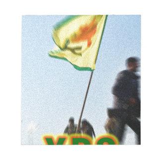 YPG - Kurdish Freedom Fighters of Kobani v2 Notepad