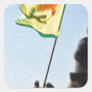 YPG - Kurdish Freedom Fighters of Kobani v2 Square Sticker
