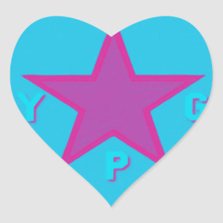 ypg logo 6 heart sticker