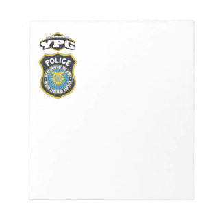 YPG Police Notepad