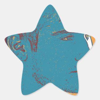 YPG Soldier 2 art Star Sticker