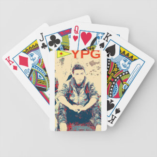 YPG Soldier 3 Art 2 Bicycle Playing Cards