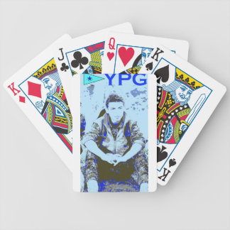 YPG Soldier 3 Art 3 Bicycle Playing Cards