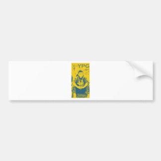 YPG Soldier 3 Art 4 Bumper Sticker