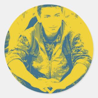 YPG Soldier 3 Art 4 Classic Round Sticker