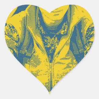 YPG Soldier 3 Art 4 Heart Sticker