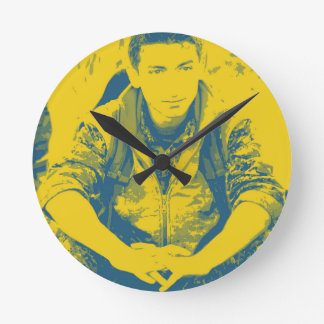 YPG Soldier 3 Art 4 Round Clock